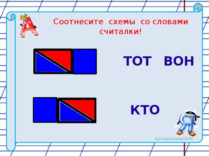 Русский язык.  1  класс. Как  определить,  сколько  в  слове  слогов?  (2 урок)