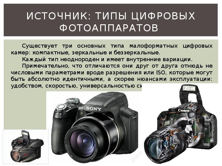 виде важные параметры цифрового фотоаппарата хотите знать, сколько