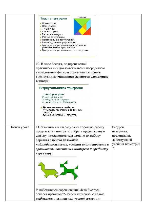 """Презентация урока геометрии на тему """"Треугольник, виды треугольника""""(7 класс)"""