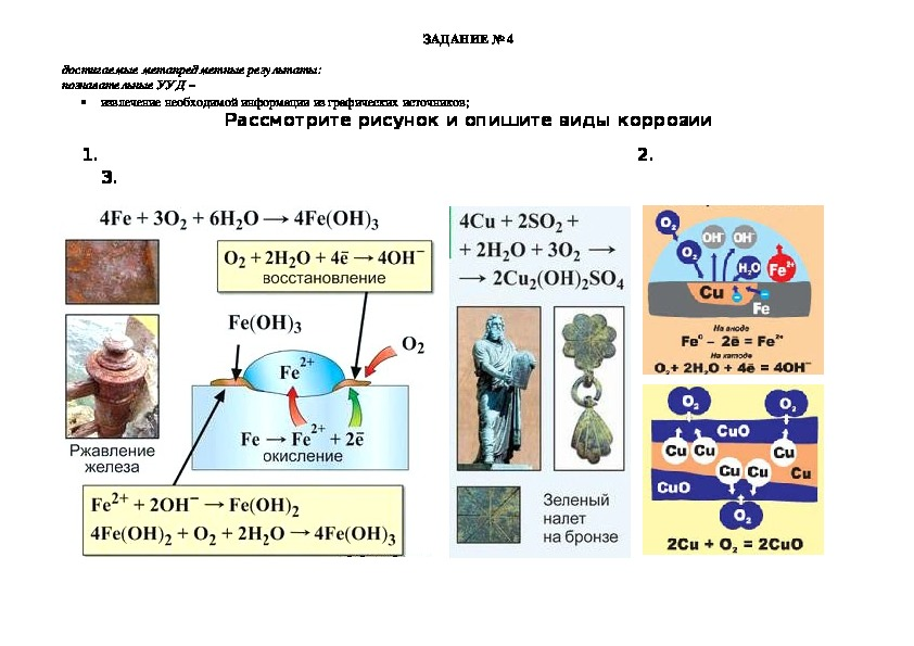 """Урок химии """"Коррозия металлов"""""""