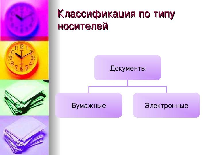 """Презентация по предмету """"Технология"""" 10-11 классы на тему """"Современное делопроизводство"""""""