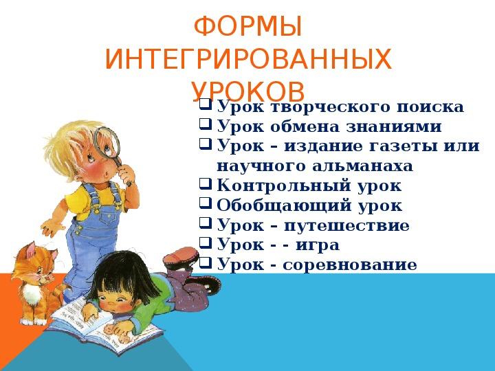 Презентация    «Интегрированный урок как средство развития коммуникативной компетенции у детей с ОВЗ младшего школьного возраста» (опыт работы)