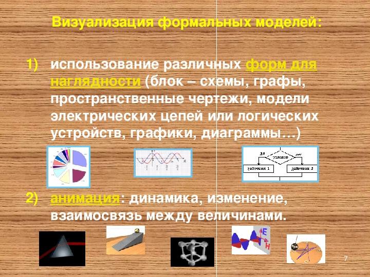 """Презентация """"Модели и их  построение"""""""