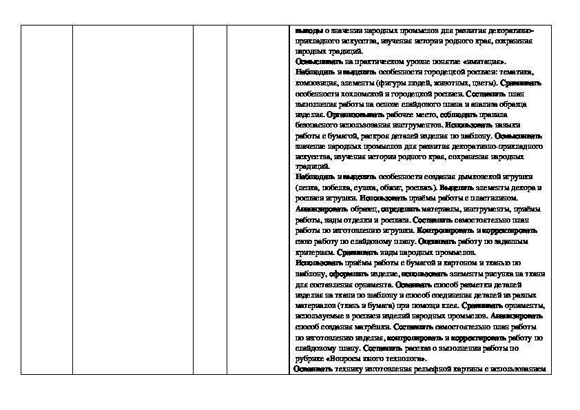 """Календарно-тематическое планирование по технологии. УМК """"Перспектива 2 класс"""