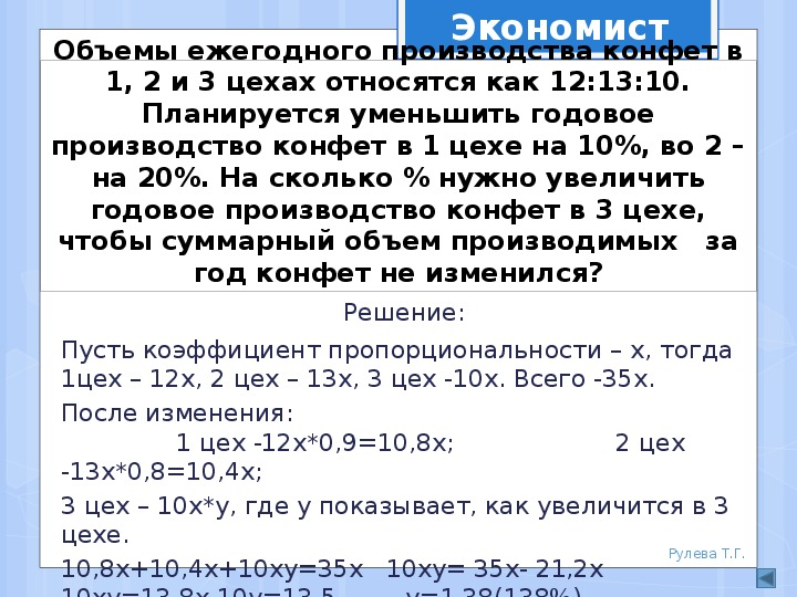 """Презентация """"Какие профессии связаны с процентами"""" (6 класс)"""