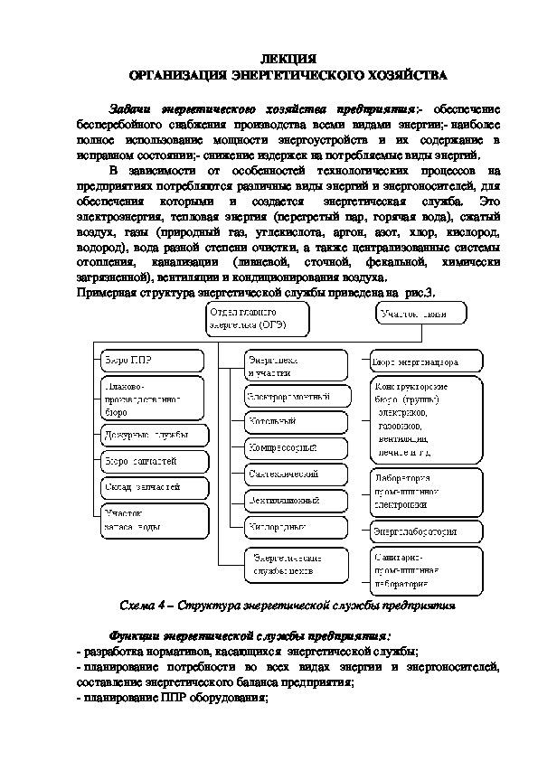 Лекция 10. МДК 02.01. Планирование и организация работы структурного подразделения.