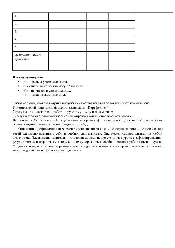 """Доклад выступления на педагогическом совете на тему""""Оценивание личностных , метапредметных и предметных образовательных результатов"""""""