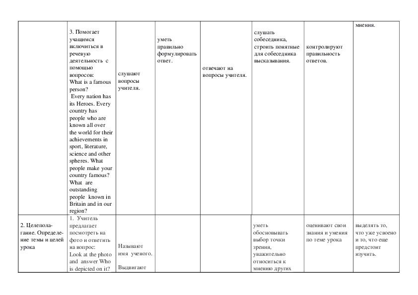 """Урок по реализации регионального содержания в образовании""""М.В. Ломоносов- великий сын России"""" (7 класс)"""