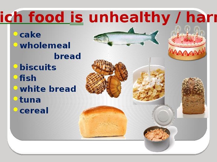 Презентация - Spotlight (7 класс), We're what we eat