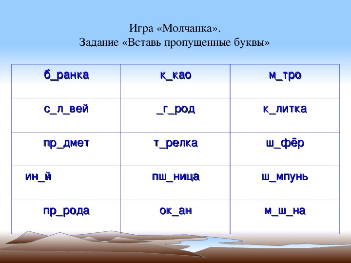 Презентация пр русскому языку