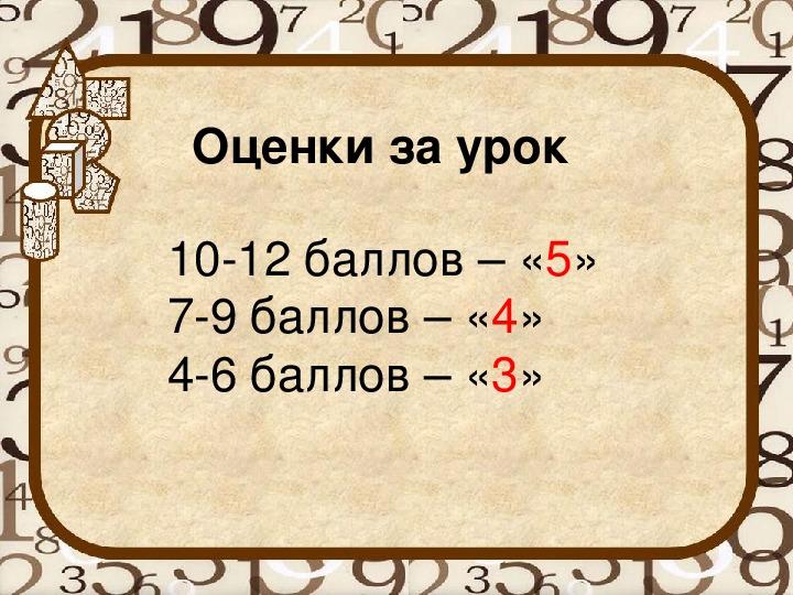 """Разработка урока по математике на тему """"Умножение и деление положительных и отрицательных чисел"""""""