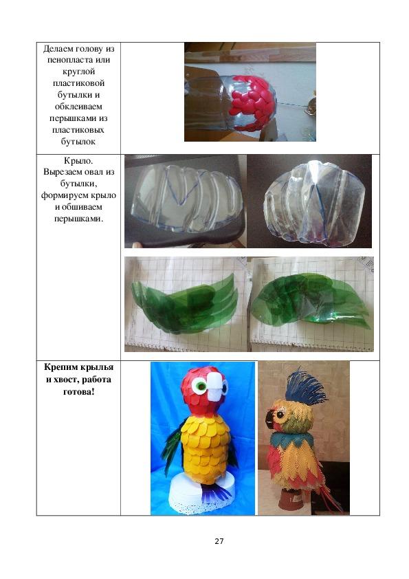Эко-творческий просветительский проект «Пластиковые бутылки в дело»