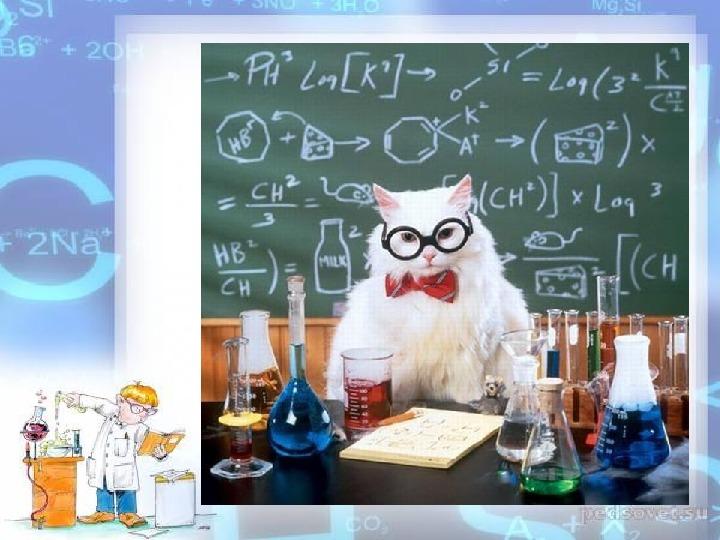 """Вводный урок в 8 классе """"Зачем нам нужна эта химия?"""""""