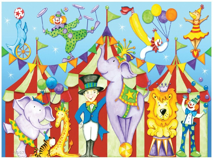 Презентация - Spotlight 2 (2 класс), module 3 - At the circus.