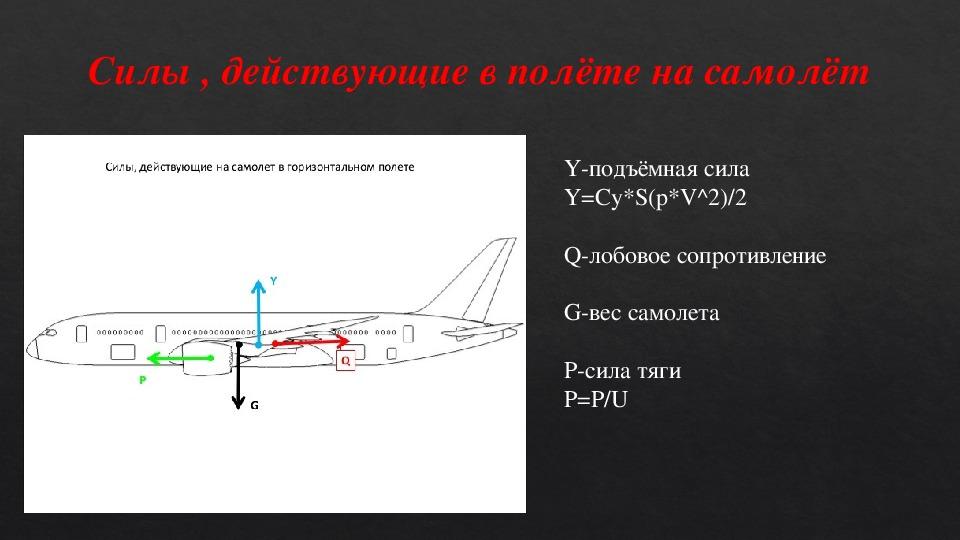Создание модели самолёта Mark-1 на базе самолёта Ту-154