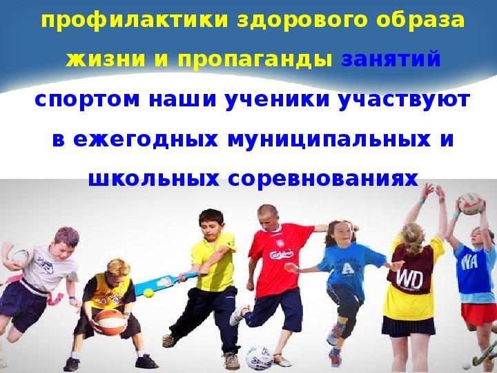 "Презентация ""Нам со спортом по пути"""