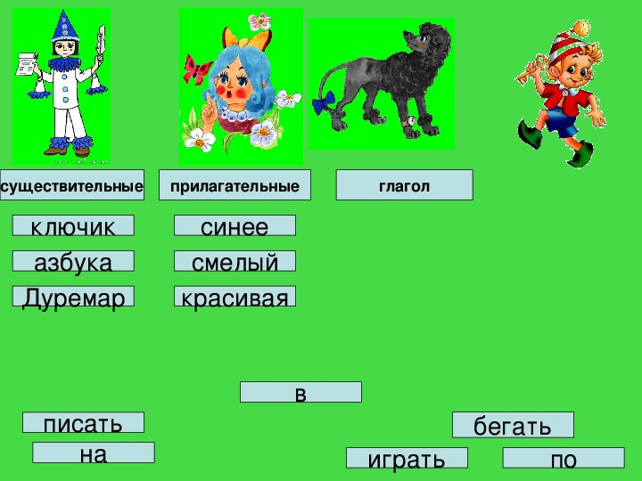 """Конспект урока """"Предлог"""" (2 класс, русский язык)"""