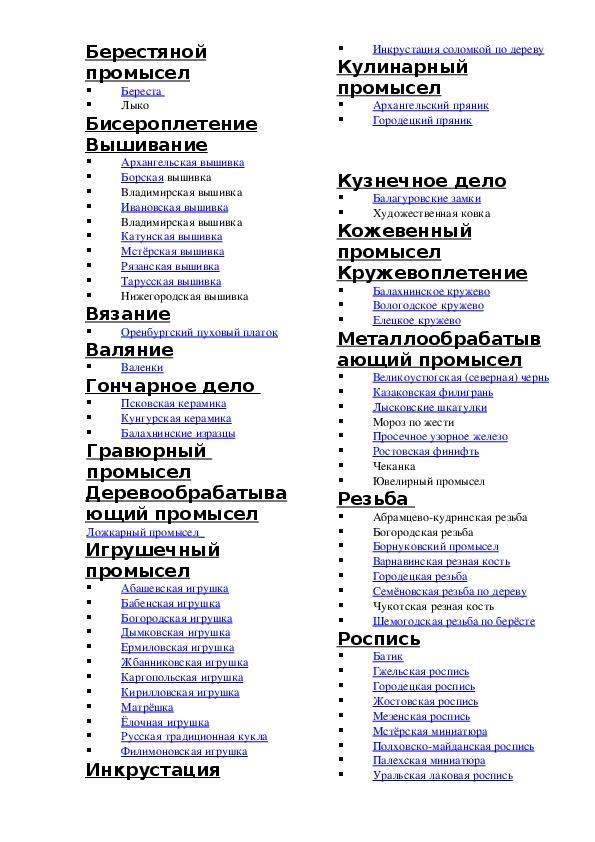 """Проектная работа  """"Азбука народных художественных промыслов России"""". (серия """"Нравственно-патриотическая"""")"""