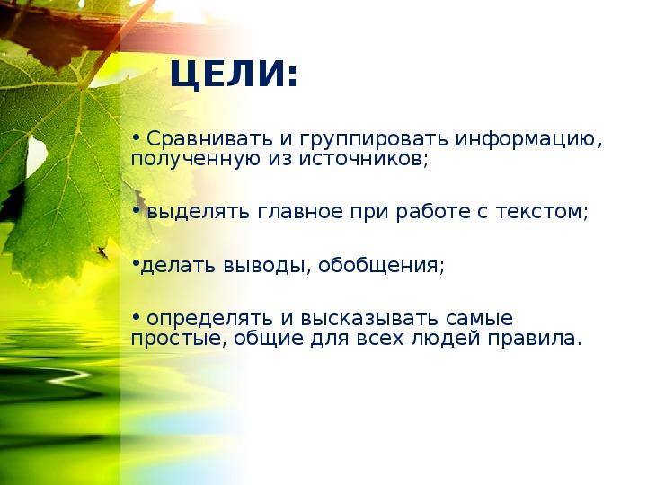 "Презентация ""Секреты природы"" (1 класс, окружающий мир)"