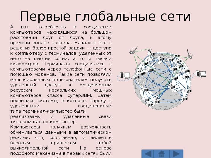 Компьютерные сети. История и эволюция