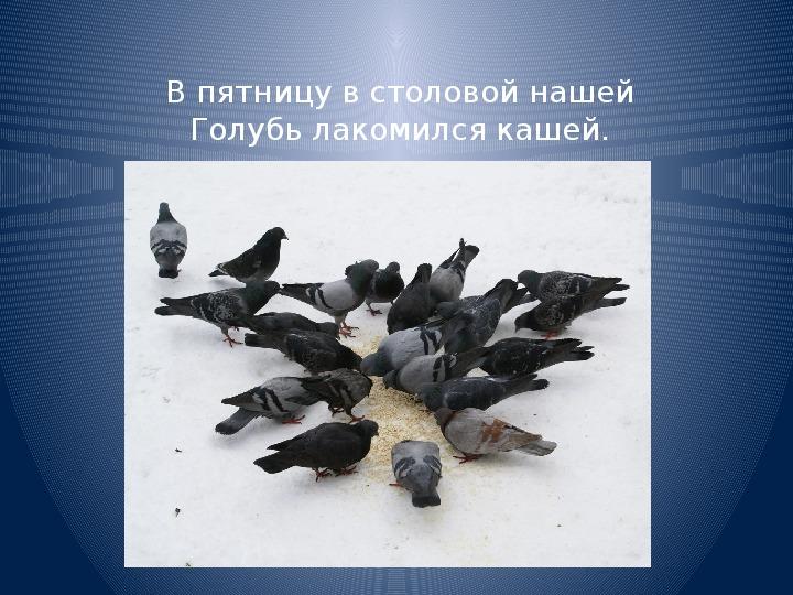 """Презентация для урока чтения в 3 классе """"Покормите птиц зимой"""""""