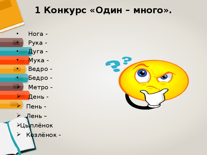 Внеклассное мероприятие по русскому языку КВН 4 класс
