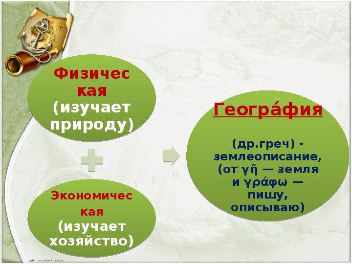 """Презентация по географии по теме: """"Что изучает география?"""" (5 класс, география)"""