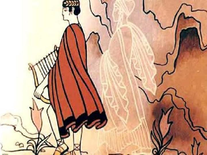 """Разработка урока  """"Мифы Древней Греции"""" .Опера """"Орфе и Эвридика""""."""