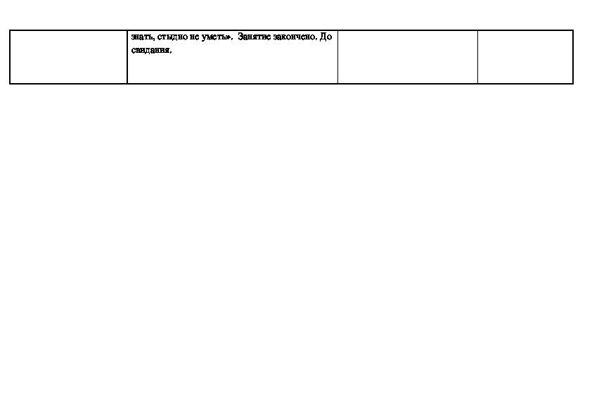 """Технологическая карта внеурочного занятия по математике на тему:: """"Как задавать вопросы"""""""