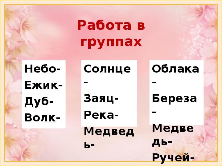 """""""Слова, отвечающие на вопросы Какой? Какая? Какое? Какие?"""" - Русский язык. 1 класс УМК «Школа России»"""