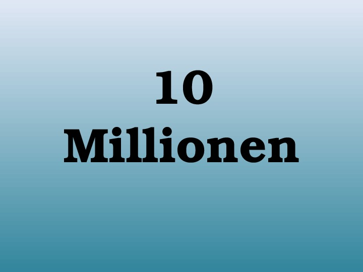 "Викторина  ""10 миллионов"""
