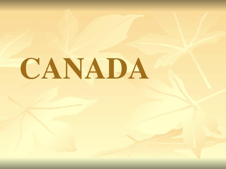 Презентация по английскому языку к уроку. Тема урока: Канада (7 класс)