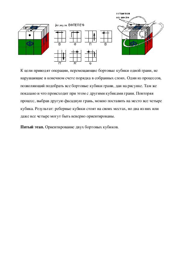 Проект Кубика Рубика