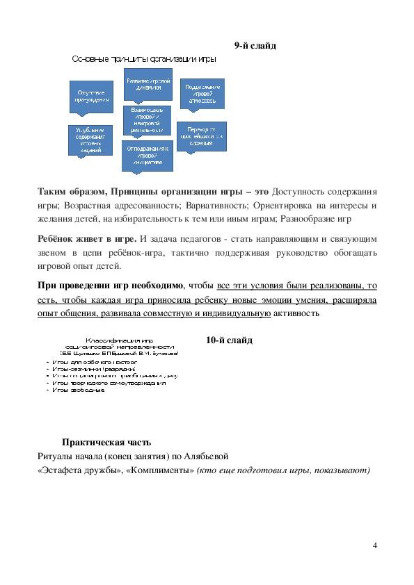 Презентация к семинару-практикуму