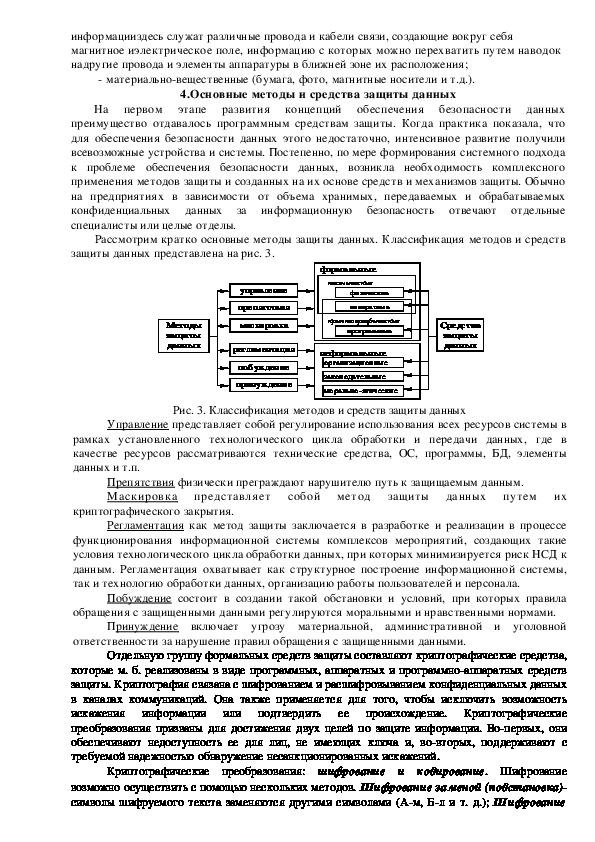 Лекция. Безопасность в информационной среде