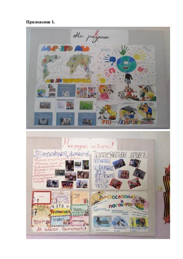 Педагогический проект «Культура толерантного  общения учащихся школы  в условиях внедрения ФГОС»