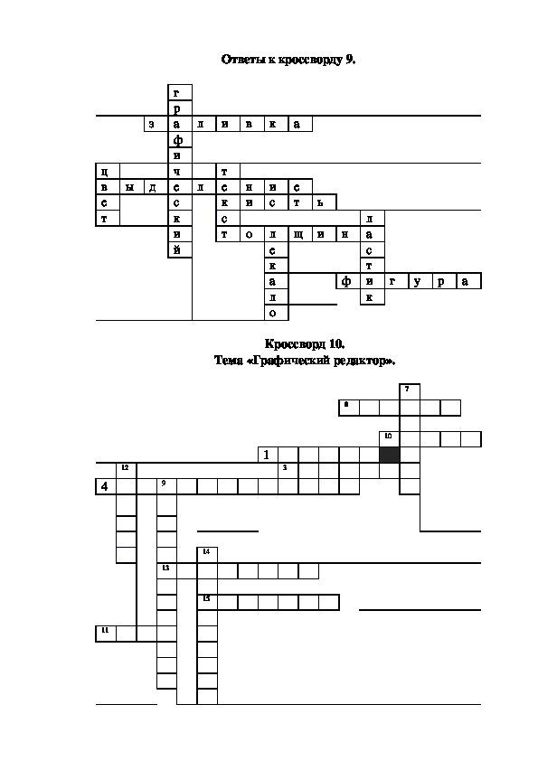 """Разработка урока по дисциплине информатика на тему """"Работа с объектами в растровом графическом редакторе"""""""