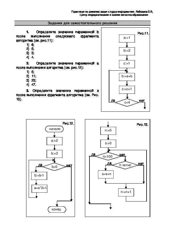 """Разработка урока по информатике на тему """"Программирование циклических алгоритмов"""" 9 класс"""