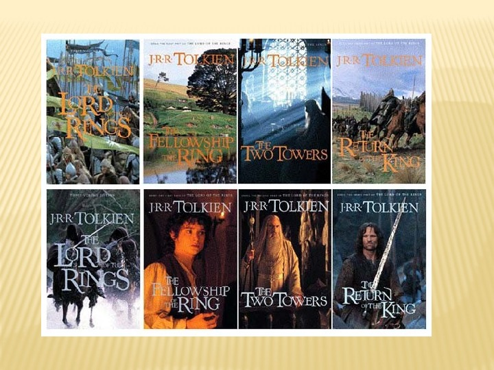 Презентация и дополнительная биография писателя Дж.Р.Р Толкина для старшей школы