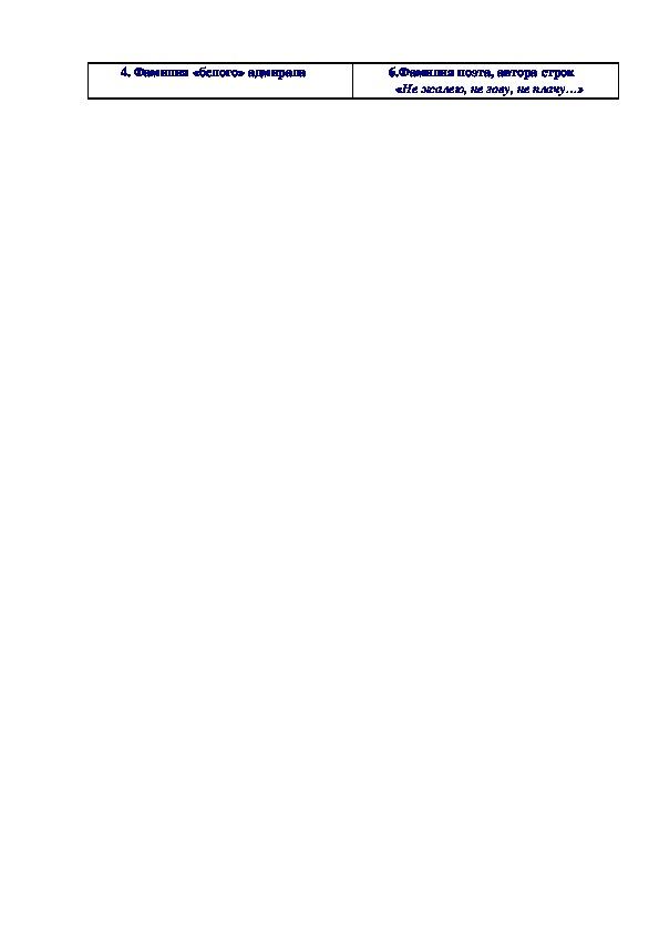 """Викторины по истории """"Россия в начале 20 века"""""""