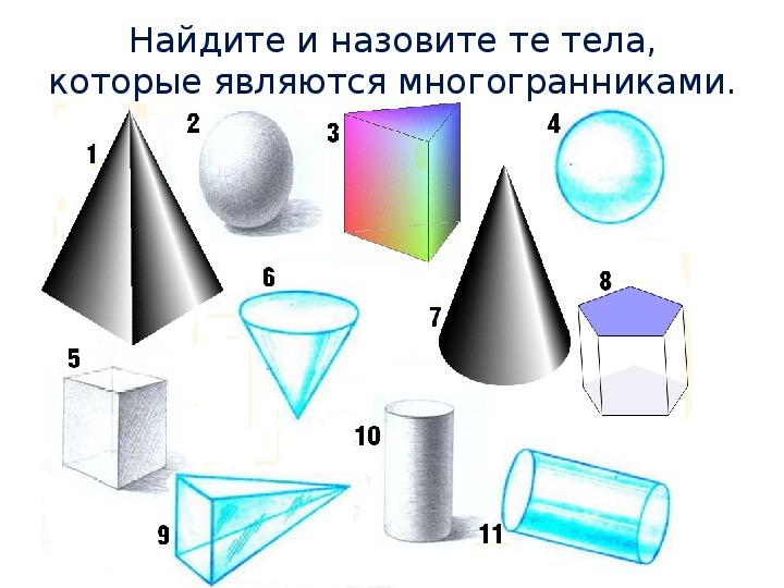 """Урок математики в 5 классе по теме """"Геометрические тела и их изображения"""""""