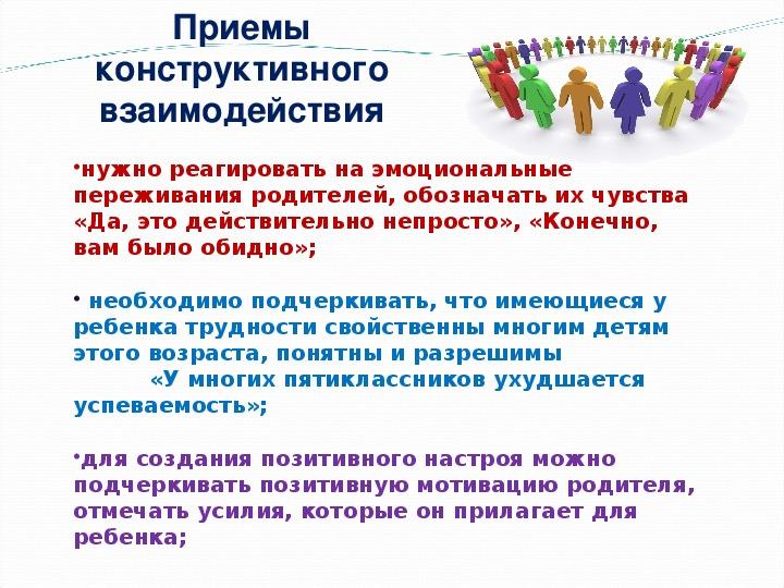 """Презентация выступления на просветительском часе на тему:""""Общение педагога с родителями-секреты взаимопонимания"""""""