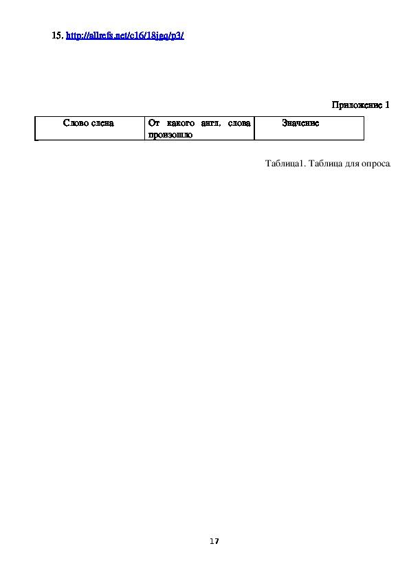 """Проект по английскому языку """"Компьютерный сленг и как его понять"""""""
