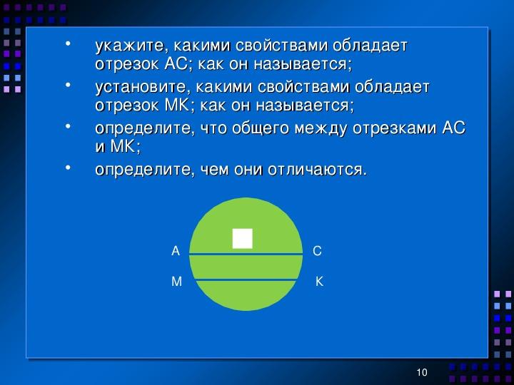 """Презентация по математике 5 класс по темам """"Обыкновенные дроби"""" и """"Линии в круге"""""""