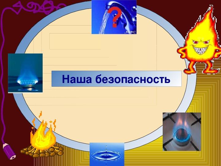 """Презентация к открытому  уроку окружающего мира в 3 классе. Тема: """"Огонь, вода и газ"""""""