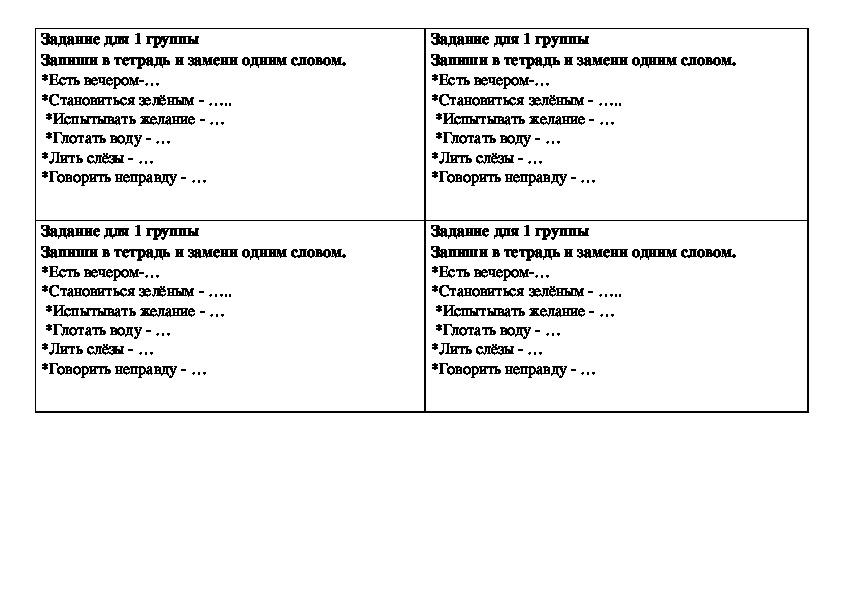 Конспект урока + презентация по русскому языку 4 кл школа России