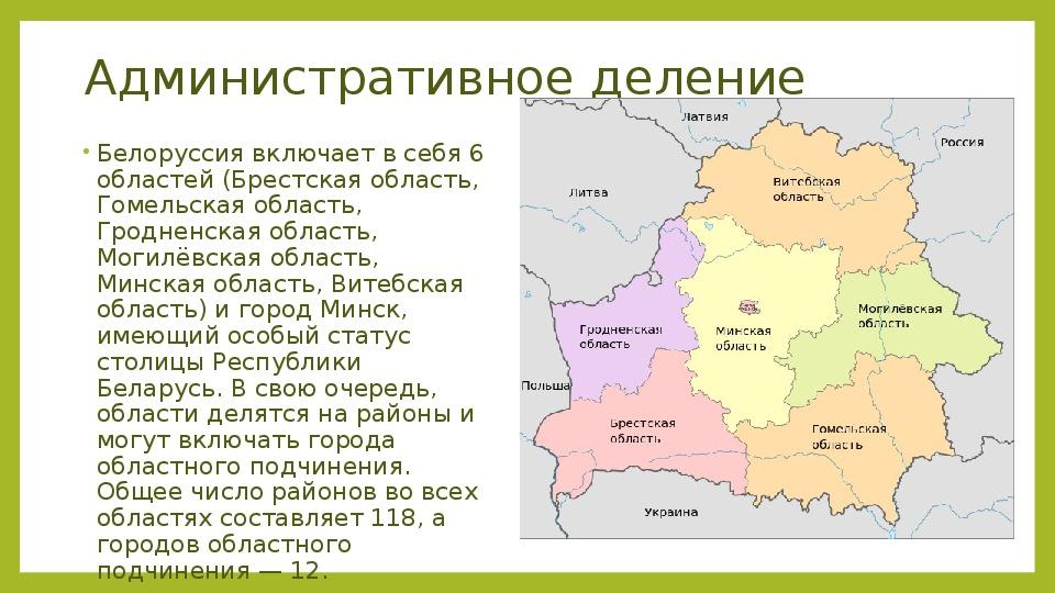 "Презентация по географии ""Страна СНГ(Беларусь)"""
