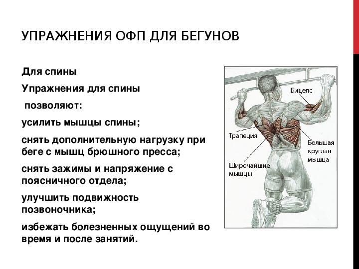 """Презентация по физической культуре """"Что такое  ОФП ?"""""""