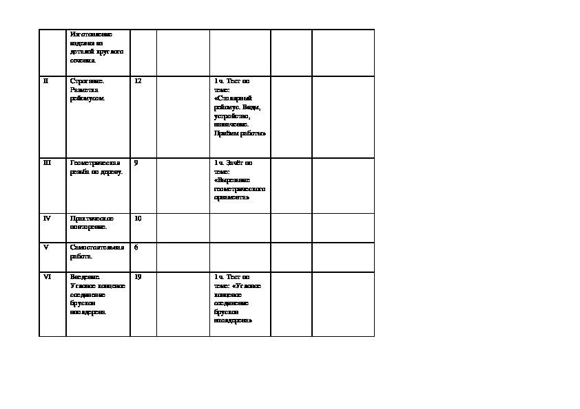 Адаптированная программа 6 класс