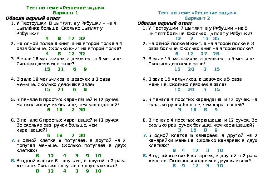 Решение простых задач по алгебре i решение задач ивашкевич